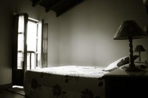 Interior de habitación de la Casa rural Peña Careses