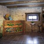 Recepción de la Casa Rural Peña Careses